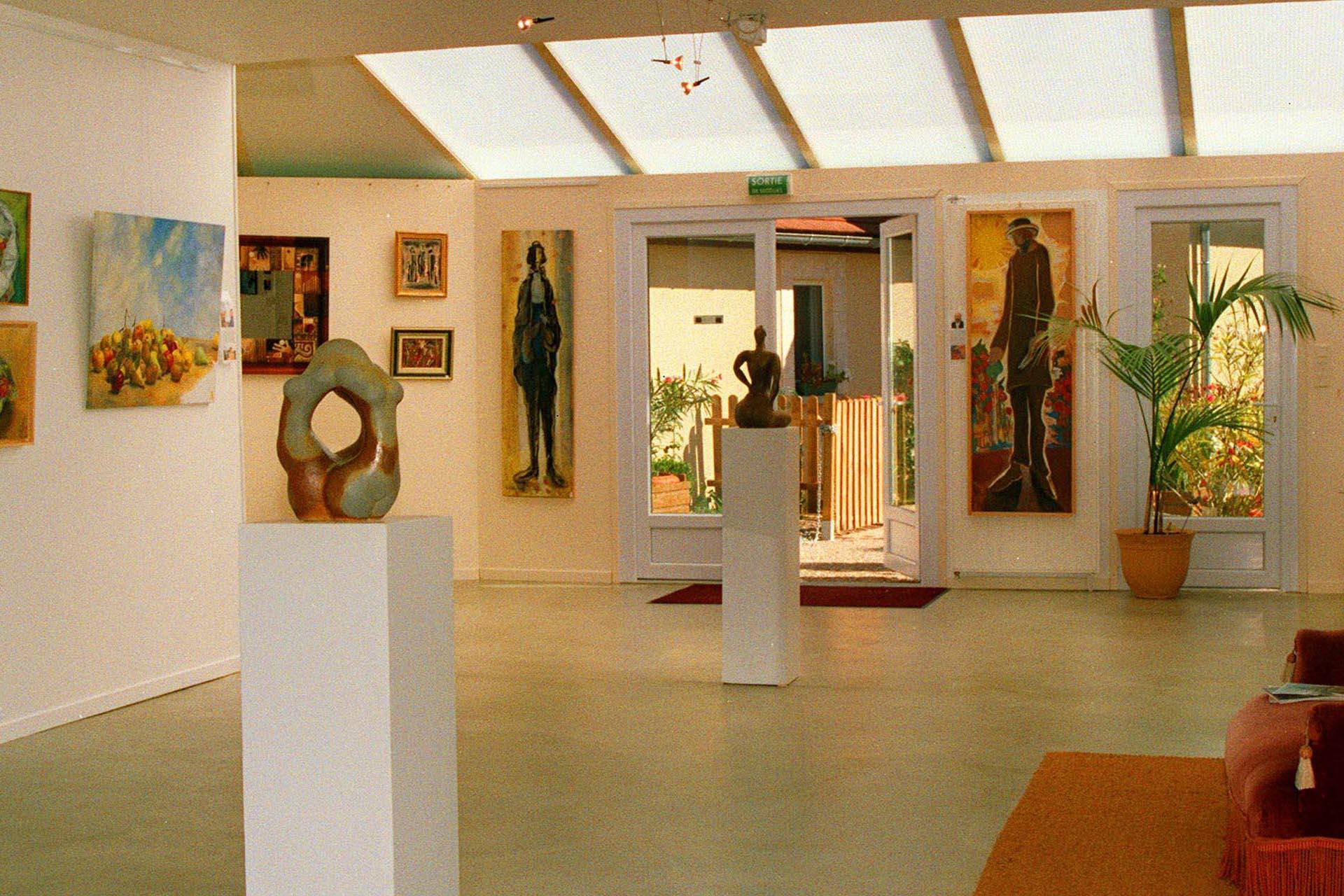 site internet pour une galerie d'art