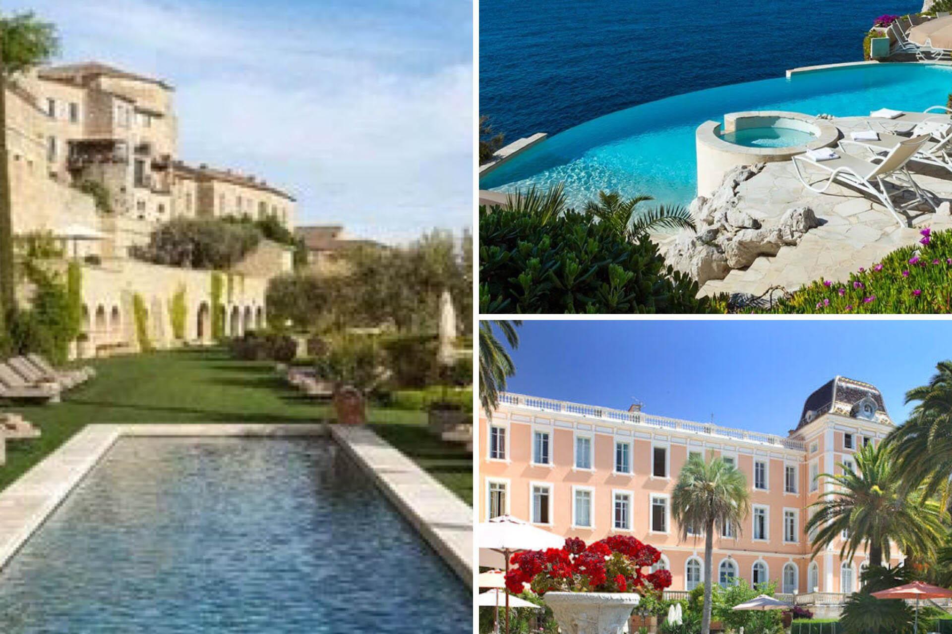 conception d'un site internet pour hôtel de luxe