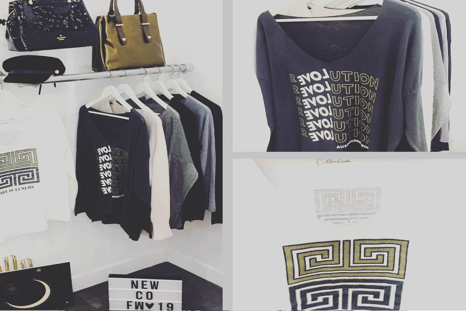 site web de vêtement de mode